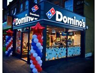 Domino's Pizza London-New Malden instore Team Members Wanted £7.50 per Hour