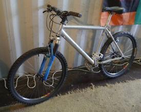 "Retro Marin Indian Fire Trail mountain bike, 19"" aluminium frame, XT 24 speed White Industries Mavic"