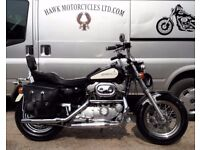 ONE OFF CUSTOMISED 1990 HARLEY DAVIDSON XLH1200 SPORTSTER 3 OWNERS 5927 MILES WITH MOT'S FROM 2003
