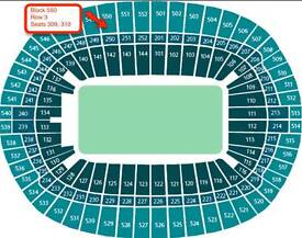 Adele The Finale tickets x2 for Sunday 2 July £300