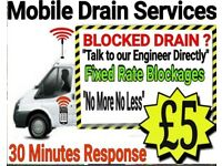 "☎️£5☎️""NO MORE-NO LESS""At Your Door In 30mins""(24/7)☎️1 Hr Arrival☎️Plumber-Blocked Drains &Toilets"
