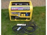 6000W petrol generator, hardly used and in near mint condition. 110v and 230v
