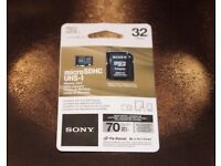 Sony Flash memory card 32gb(SORRY SOLD OUT)