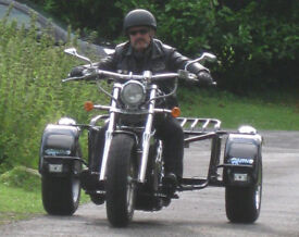 Trike Rhino Suzuki Intruder VS1400 Custom