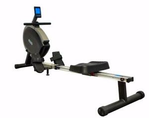 BRAND NEW SILENT ROWER IN BOX! MODEL 2018 - FREE SHIPPING!  24 PROGRAMS, WIRELESS CHEST BELT  AND MORE...