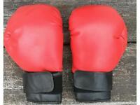 Medium sparring boxing gloves