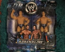 Jakks Adrenaline 2Pack Wrestling Figures New Boxed MOC (Individually priced in listing)