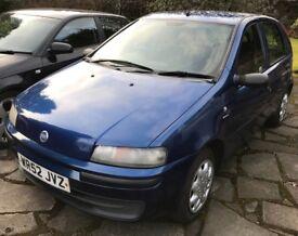 2002 Fiat Punto, 1.2, 5 door