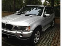 BMW X5 3.0d 82.5k miles FSH Tax MOT and insured