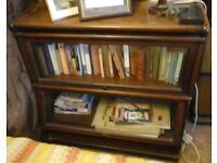 Glass Fronted Book Shelves