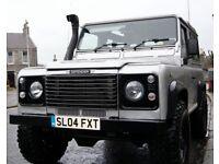Land ROver Defender 90 TD5 County Station Wagon. 2004, 123k miles, £11.5k