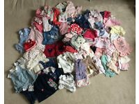 HUGE Bundle of Girls Clothes: Newborn to 9 Months