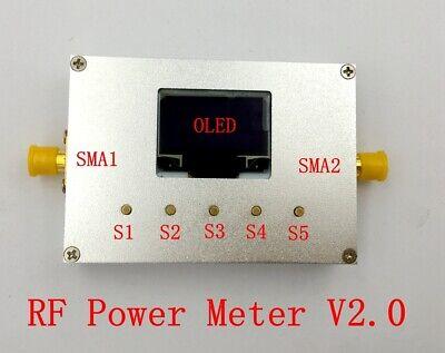 Rf3000 100khz-3ghz Oled Rf Power Meter -600dbm Sofware Rf Attenuation Value