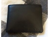 TUMI Black Leather Men's Wallet