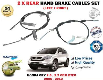 Handbrake Cable fits HONDA CR-V RD4 2.0 Right 04 to 07 K20A4 Hand Brake Parking