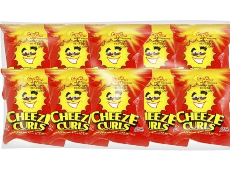 Bags Minis cheetos Snak Man  Cheeze Curls 10 unit