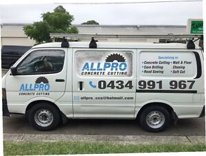 Allpro concrete cutting services Bankstown Bankstown Area Preview
