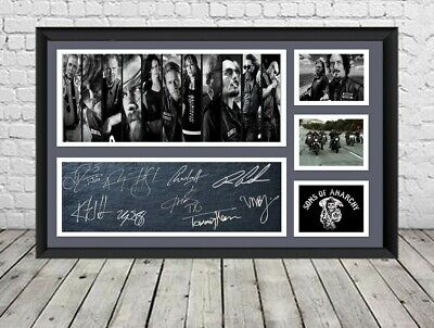 Sons Of Anarchy Signed Photo Poster Print Autographed Memorabilia