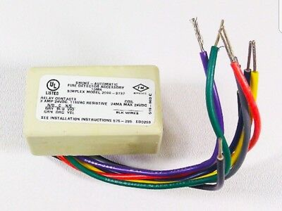 Brand New Simplex 2098-9737 Fire Alarm Relay Module With Free Shipping!!