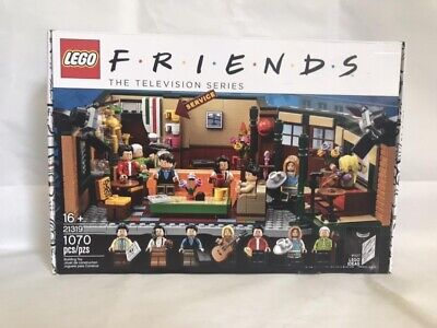 Brand New Lego Friends Central Perk 21319 Ideas Building Kit, 1070 Pieces