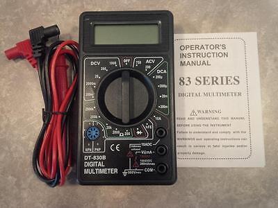 Voltmeter Voltage Battery Outlet Transistor Diode Tester Volt Meter Multimeter