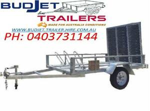 TRAILER HIRE RENTAL BRISBANE 8X5 MOTOR BIKE  TRAILER FROM $55 P/D