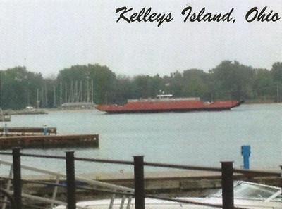 Postcard Ohio Kelleys Island Ferry Erie County MINT Unused  segunda mano  Embacar hacia Argentina