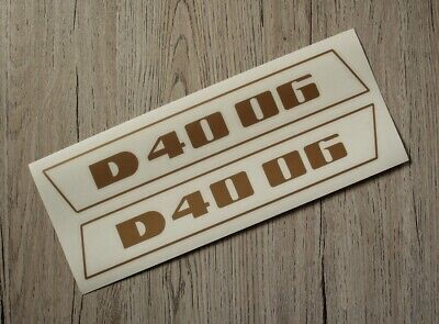 Deutz D5506 Aufkleber Label Sticker Motorhaube