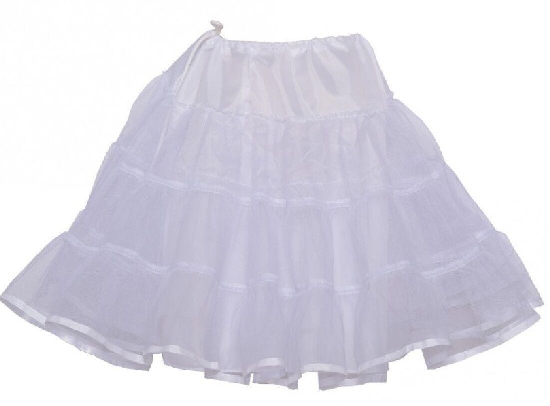 Little Girls Bouncy Fluffy Petticoat Skirt Half Slip Extra F