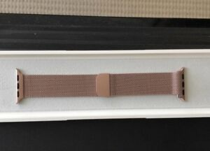 Brand New Rose Gold 38mm Apple Watch Milanese Loop Band