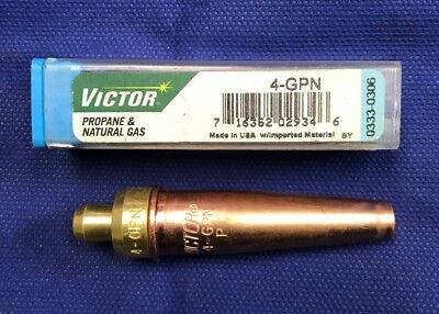 Victor 4-gpn Torch Tip Natural Gas And Propane