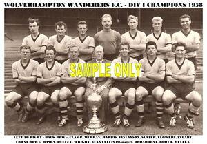 WOLVERHAMPTON-WANDERERS-F-C-TEAM-PRINT-1958-CHAMPIONS
