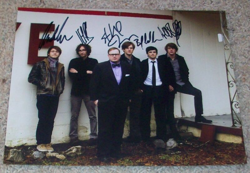 ST. PAUL & THE BROKEN BONES AUTOGRAPH SIGNED 8x10 PHOTO JANEWAY +5 w/EXACT PROOF
