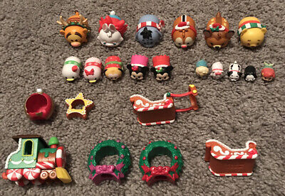 Disney Tsum Tsum Vinyl Lot Christmas Advent Calendar 23+ Pieces & Accessories