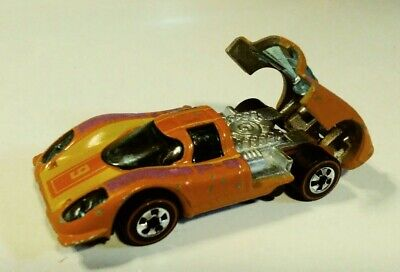 Hot Wheels Redline 1974 Porsche P-917 Orange Flying Colors