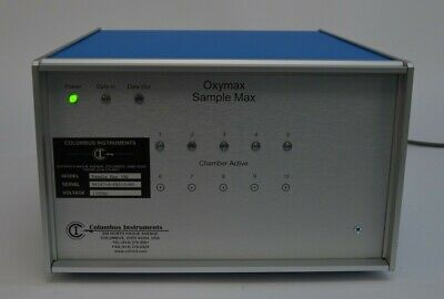 Columbus Instruments Sample Max 190 5-channel Oxygen Monitor