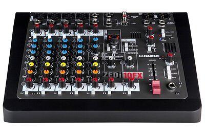 Allen & Heath ZEDi-10FX Hybrid compact mixer 4×4 USB interface W / Effects