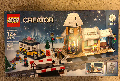 LEGO Creator 10259 Winter Village Station New In Box Ready To Ship Immediately