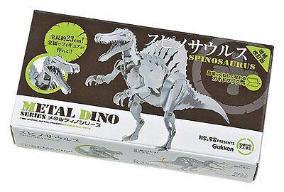 Gakken META DINO Series Spinosaurus Metal Figure Kit Best Buy Gift from Japan