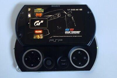 sony psp go black 16 gb + 7500 games pre installed