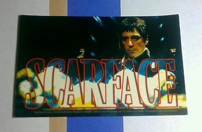 SCARFACE SEE THROUGH LETTERS TM TONY Al Pacino Classic Bike Car MOVIE STICKER