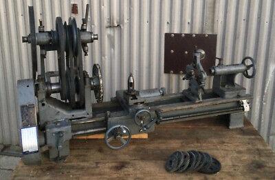 Craftsman Metalcraft Atlas 9 Screw Cutting Lathe Early Model Rare Hard To Find