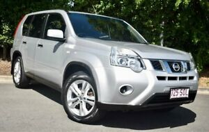 2012 Nissan X-Trail T31 Series IV ST Silver 1 Speed Constant Variable Wagon