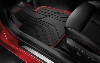 BMW All Weather Rubber Front Car Mats Sport F30F31 51472339780 Right hand Drive