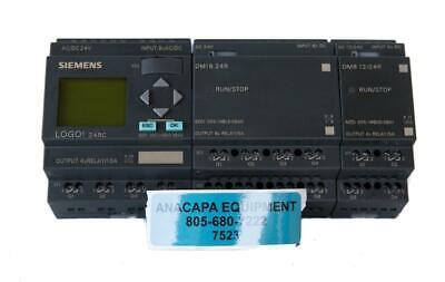 Siemens Logo 24rc Dm16 24r Dm8 1224r Used 7523 W
