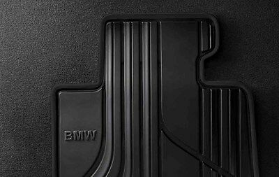 Genuine BMW 3  4 Series All Weather Rear Rubber Floor Mats 51472219802