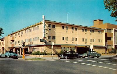 SACRAMENTO, CA California  CAPITOL VIEW MOTEL Roadside 50's CARS Chrome Postcard for sale  Shipping to Canada