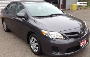 2013 Toyota Corolla LE BLUETOOTH HEATED FRONT SEATS Clean Car Pr