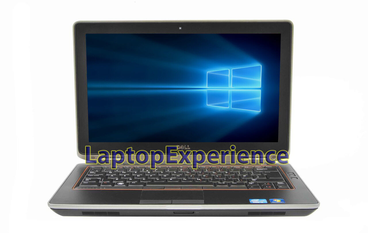 DELL LATITUDE E6320 LAPTOP WINDOWS 10 WIN INTEL i5 2.5GHz 8GB DVD-RW HDMI WEBCAM