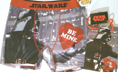Unisex underwear Boxers Star Wars Disney Darth Vader Valentine Love Birthday NWT